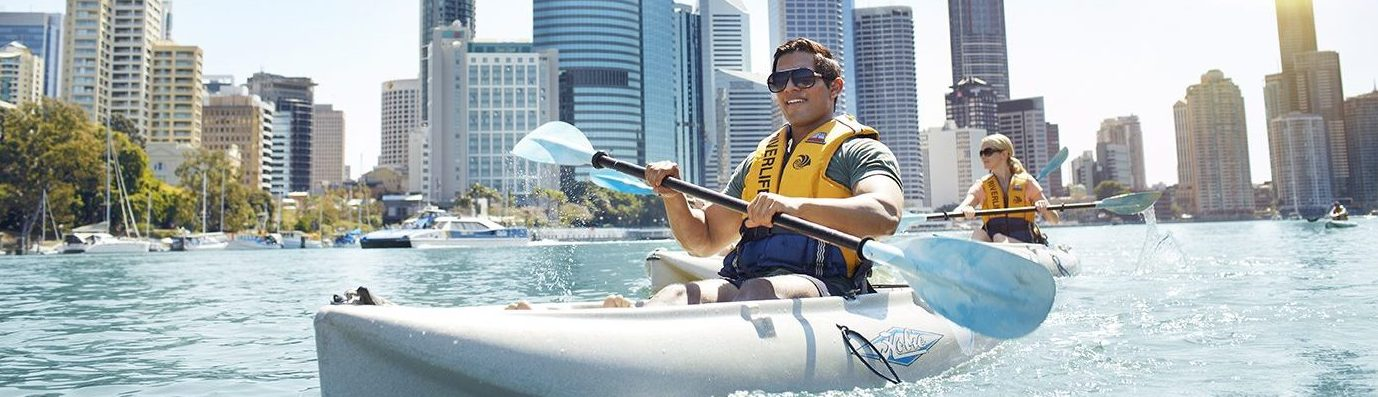 A photo of Kayak hire Brisbane
