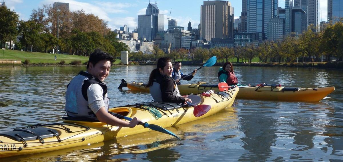 A photo of Kayak hire Melbourne